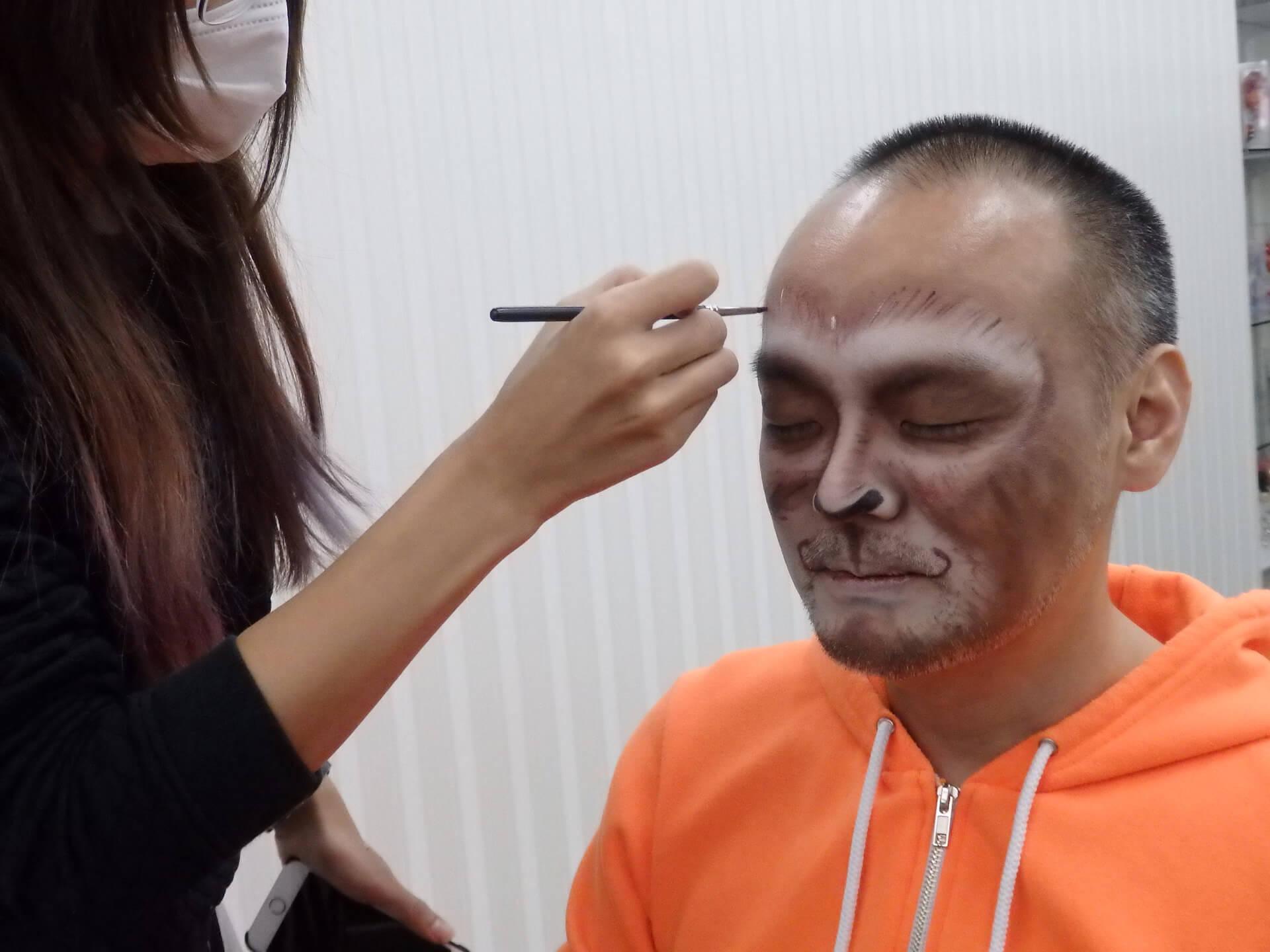 2016年用プロによる猿メイク